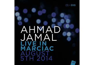 Ahmad Jamal - Live In Marciac. August 5TH 2014 (+Bonus-DVD) - (CD + DVD)
