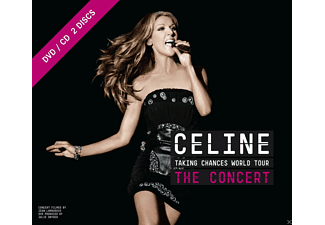 Céline Dion - Tournee Mondiale Taking Chances - Le Spectacle (DVD + CD)