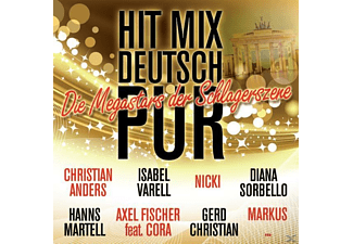 VARIOUS - Hit Mix Deutsch Pur - (CD)