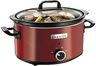 CROCK POT Slowcooker 2,4L Manuell - Röd