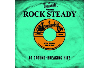 VARIOUS - Treasure Isle Presents Rock Steady (2cd) - (CD)