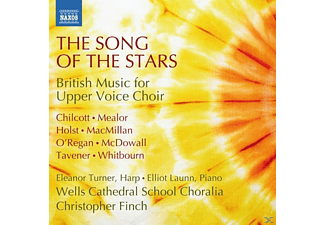 VARIOUS, Eleanor Turner, Elliot Launn, Wells Cathedral School Choralia - The Song Of The Stars [CD]