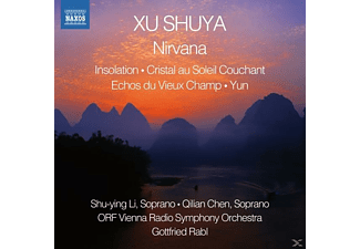 Shu-Ying Lu, Qilian Chen, ORF Vienna Radio Symphony Orchestra - Nirvana/Insolation/Cristal Au Solail Couchant/+ [CD]