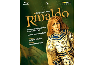 VARIOUS - Rinaldo - (Blu-ray + CD)