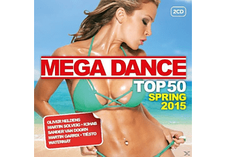 VARIOUS - Mega House Top 50 Spring 2015 - (CD)