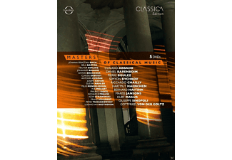 VARIOUS - Masters Of Classical Music - (DVD)