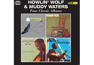 Howlin' Wolf, Muddy Waters - Four Classic Albums [CD]