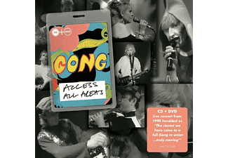 Gong - Access All Areas - (CD + DVD)