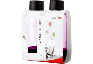 AGA Aqvia PET 0,5 L 2-PACK - Rosa