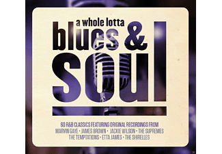 VARIOUS - A Whole Lotta Blues & Soul [CD]