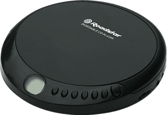 ROADSTAR PCD 435CD Portable CD-Player Schwarz