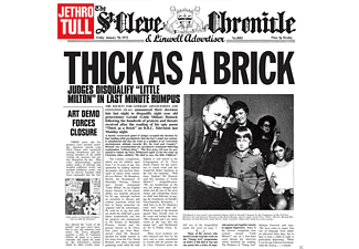 Jethro Tull - Thick As A Brick - (CD)