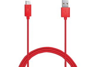 PURO MICROUSBCABLEC5 1A Cable USB-Micro USB 1 Mt Red