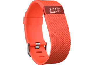 FITBIT Charge HR Small, Activity-Tracker, S, Orange