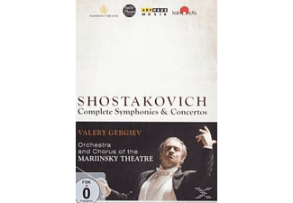 VARIOUS, Orchestra & Chorus Of The Mariinsky Theatre - Complete Symphonies & Concertos [DVD]