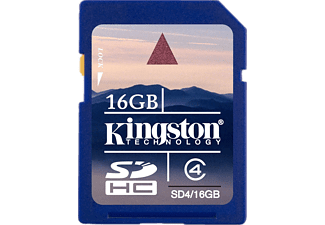 KINGSTON SD4/16GB Consumer SDHC Class 4 Card