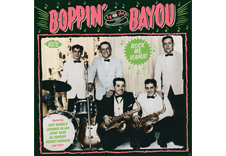 VARIOUS - Boppin' By The Bayou-Rock Me Mama! [CD]