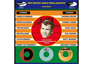 VARIOUS - Hot Rockin' Music From Memphis Vol.2 - (CD)