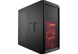 CORSAIR Graphite Series 230T Red Led Miditower ATX