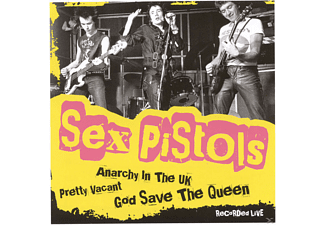 The Sex Pistols -  Live 1976 By Dave Goodman [CD]