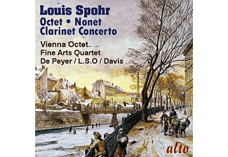 Gervase De Peyer, Vienna Octet, London Symphony Orchestra, The Fine Arts Quartet - Oktett/Nonett/Klarinettenkonzert 1 - (CD)