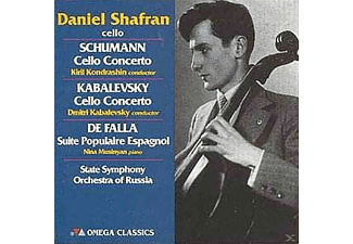Daniel Shafran, Nina Musinyan, State Orchestra Of Russia - Cello-Rezital-Konzert F.Cello & Orch.Op.129/+ [CD]
