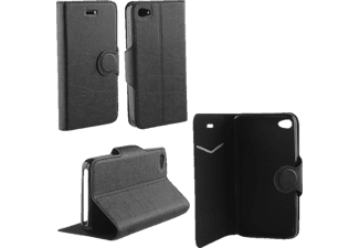 VOLTE-TEL Θήκη Iphone 4/4S Line Leather-Tpu Book Stand Black  - (5205308133152)