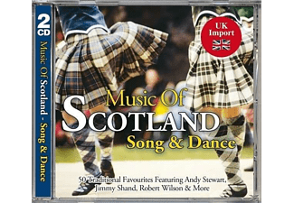 VARIOUS - Music Of Scotland-Song & Dance - (CD)