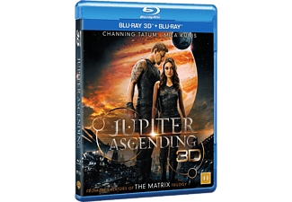 Jupiter Ascending Science Fiction Blu-ray 3D