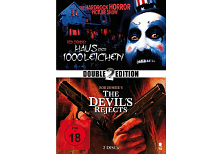 Rob Zombie Box - Haus der 1000 Leichen, The Devil's Rejects - (DVD)