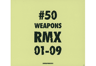 VARIOUS - 50weaponsrmx01-09 - (CD)