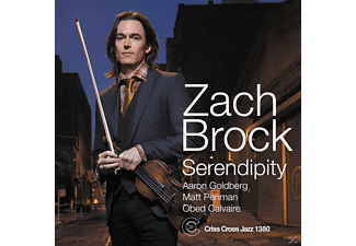 Zach Brock - Serendipity - (CD)