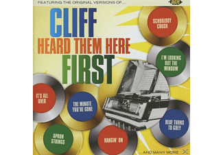 VARIOUS - Cliff Heard Them Here First - (CD)