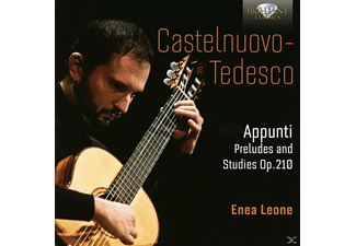 Enea Leone - Appunti, Preludes And Studies Op.210 [CD]