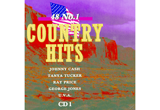 VARIOUS - 48 No.1 Country Hits [CD]