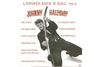 Johnny Hallyday - L'epopee Rock'n'roll-Papersleeve [CD]