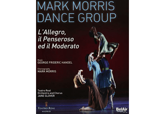 Mark Morris Dance Group, James Gilchrist (Ten), El - L'Allegro,Il Penseroso Ed Il Moderato - (Blu-ray)