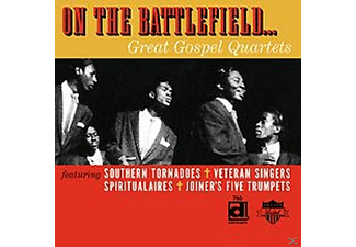 VARIOUS - On The Battlefield-Great Gospel Quartets - (CD)