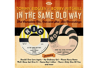 Tommy Ridgley & Bobby Mitchell - In The Same Old Way-Complete Ric, Ron And Sho-Biz R - (CD)