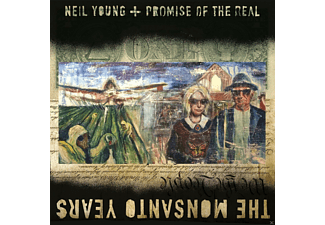 Neil Young;Promise Of The Real - The Monsanto Years | CD + DVD Video