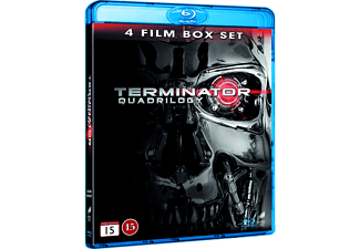 Terminator 1-4 Box Action Blu-ray