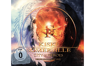 Michael Kiske;Amanda Somerville - City Of Heroes (Limited Digipak) [CD + DVD Video]