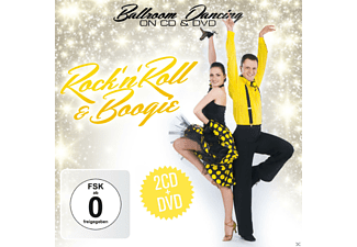 VARIOUS - Rock'n'Roll  & Boogie - Ballroom Dancing On CD & DVD - (CD + DVD)