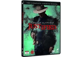 Justified S4 Drama DVD