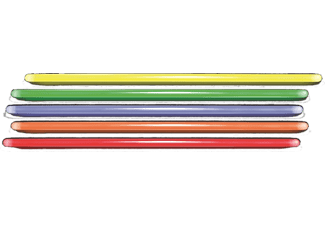 VIVANCO Glow Sticks 25 st