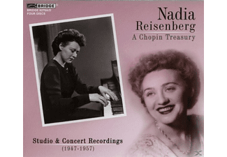 Nadia Reisenberg - A CHOPIN TREASURY - (CD)