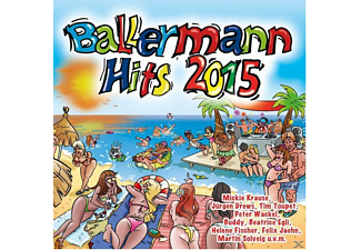 VARIOUS - Ballermann Hits 2015 [CD]