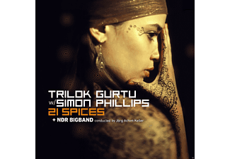 Trilok Gurtu, Simon Phillips, The Ndr Big Band - 21 Spices - (Vinyl)