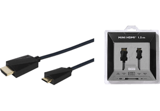 VIVANCO HDMI High Speed med Ethernet A-C hane 1.5 m