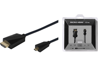 VIVANCO HDMI High Speed med Ethernet A-D hane 1.5 m